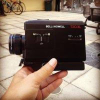 kamera w dłoni