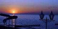 zachód słońca - Mielno