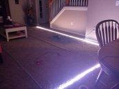 taśma LED w pomieszczeniu