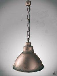 stylizowana lampa